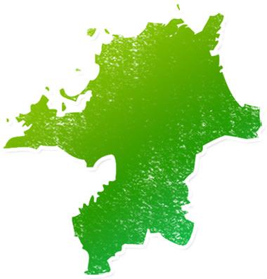 福岡県マップ